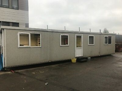 Portable Office, Portable Cabin, Site Office, Portable Building, 40 x 12