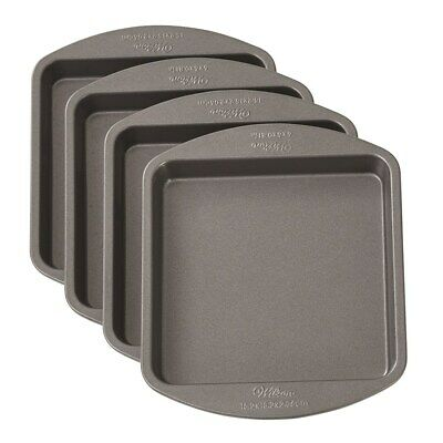 New Wilton 4pc Square Easy Layer Pan 6inch