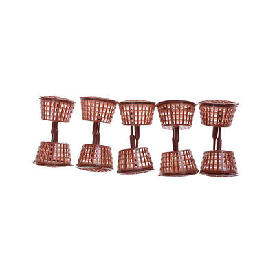 NEW 10 Pcs Big Size Orchid Fertilizer Bonsai Baskets Garden Flower Tool made eL