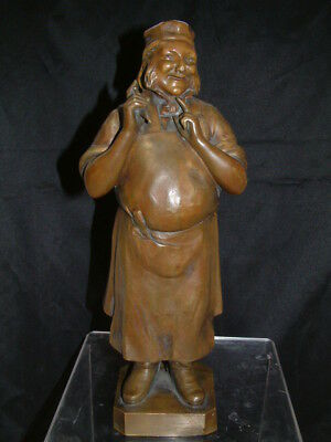 A Rare Antique  Bronze Statue Of A Baker  By The French Artist Aristide Maillol