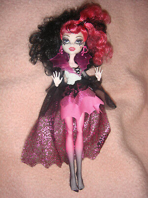 Monster High Draculaura Monsterparty Halloween Ghouls Rules