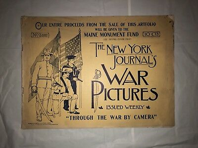 "RARE Antique 1898 ""War Pictures"" Booklet No. 3 Good Condition"