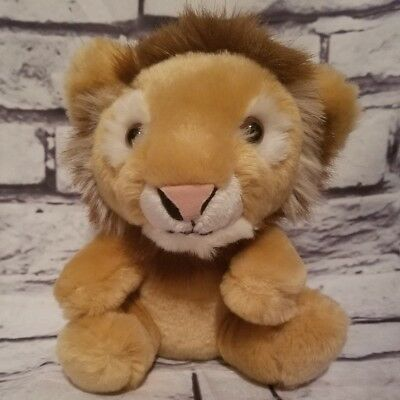 """Build-A-Bear Babw 6"""" Smallfrys Lion Limited Edition Rare Htf Retired"""