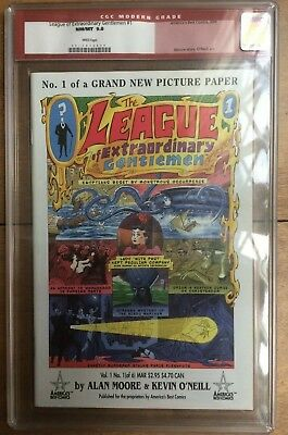 The League Of Extraordinary Gentlemen #1 CGC 9.8 White Pages