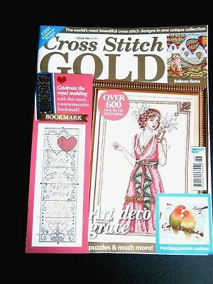 Cross Stitch Gold Magazine Issue 146 With Free Gift (new) 2018
