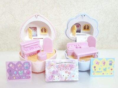 Sanrio Capsule House Collection Miniature Doll House Little Twin Stars 2pcs