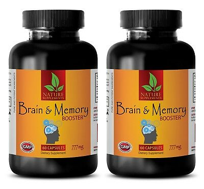 energy and focus supplement - BRAIN MEMORY BOOSTER 777MG 2B - brain booster noot