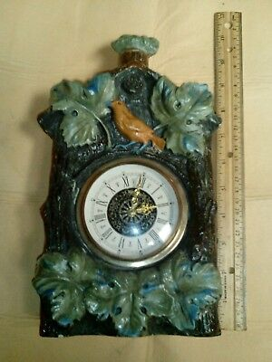 Creative World (1971) Hand Crafted In Italy Cuckoo Clock Ceramic Decanter