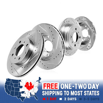 2000 2001 2002 Ford Focus Non SVT OE Replacement Rotors Ceramic Pads R