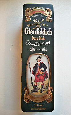 Collectible Glenfiddich Tin Clans of the Scottish Highlands Cameron
