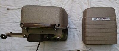 bell & howell 625 vintage 8mm projector (circa 1960)