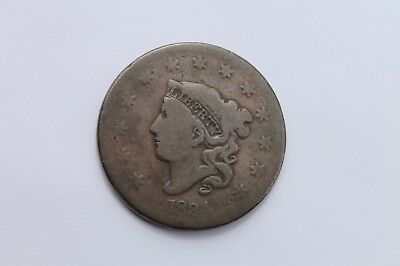 1834 Large Cent Large 8, Large Stars, Medium Letters  #LC806