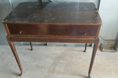 Antique Marshall Fields Chicago piano top desk