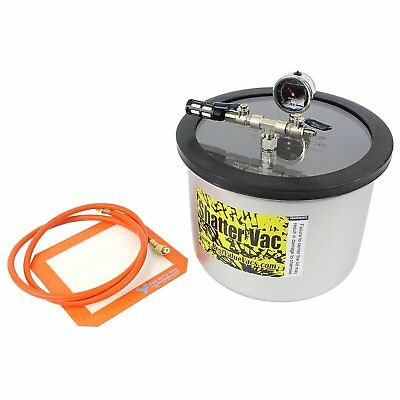 Best Value Vacs SVac 3 Gallon WIDE Stainless Steel Vacuum Chamber