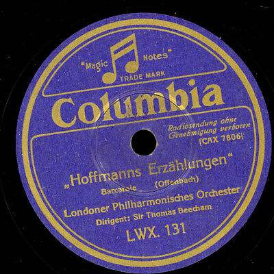 LONDON PHILHARM. ORCHESTER & THOMAS BEECHAM Offenbach: Hoffmanns Erzählung G1481