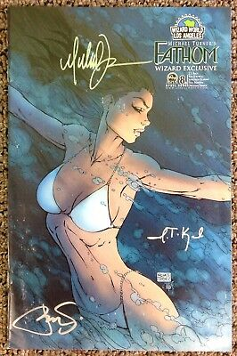 Fathom #8B Wizard World L.A. Exclusive Signed by Michael Turner