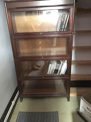 Vintage Wernicke Four Tier Sectional Bookcase Display Unit (Marks Tey Essex)