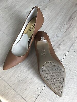 Michael Kors Pumps Leder cognac braun High Heels Damen Gr: US 7,5 (37,5)