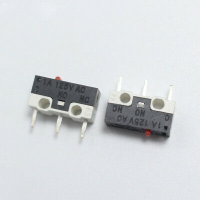 1A 125V 3Pin Mini Miniature Micro Snap Action Limit Switch Push Button for Mouse