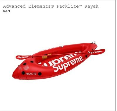 Supreme X Advanced Elements Packlite Kayak