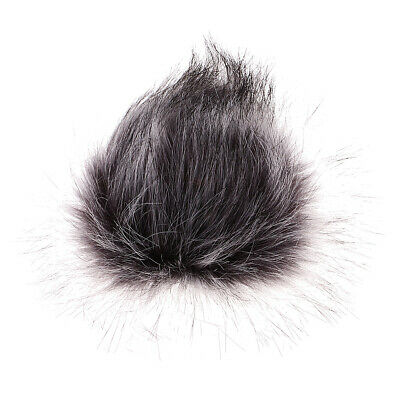 1pc Microphone Muff Fur Wind Cover for Zoom H1 H2N H4N Q3 Q3HD D50 Recorder