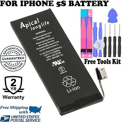 Apical Longlife Brand New Battery compatible For iPhone  5S & 5C-1560mAh +TOOLS
