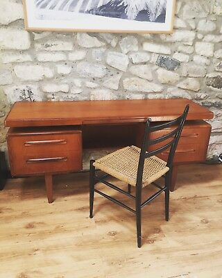 G Plan  Fresco teak Mid Century  floating desk / dressing table