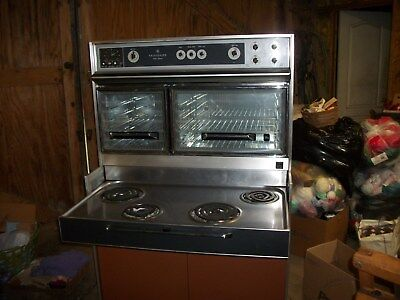 VINTAGE FRIGIDAIRE FLAIR RANGE STOVE CUSTOM IMPERIAL OVEN  1960's ELECTRIC