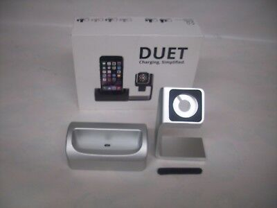 Antsy Labs Duet Dock for iPhone Apple Watch GREY for iphone 5/5s/5c/6/6plus new