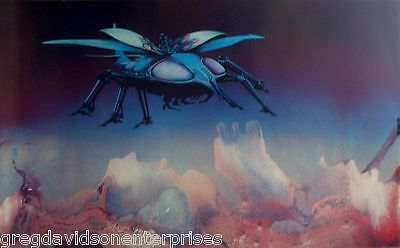 Scarab 18x30 Roger Dean Art Poster Yes