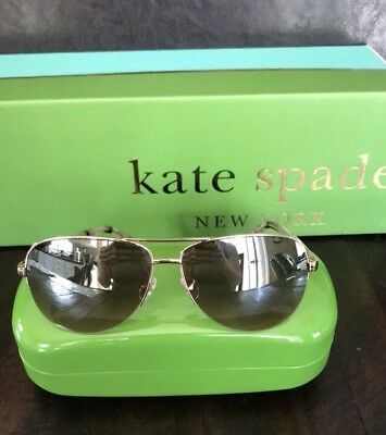 197d860b14 KATE SPADE NEW York La Brenda Sunglass Black NWT -  72.00