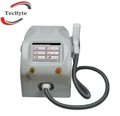 Q-Switch ND YAG Laser 1-10Hz | 1064nm,532nm,1320nm | Tattoo-Entfernung