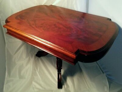 Salon Table 19th Century in Cuba Mahogany Restored Handpolisched