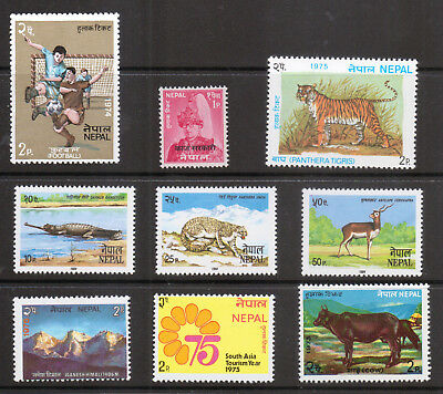 NEPAL Small lot of Mint Stamps  Please see scan  (500)