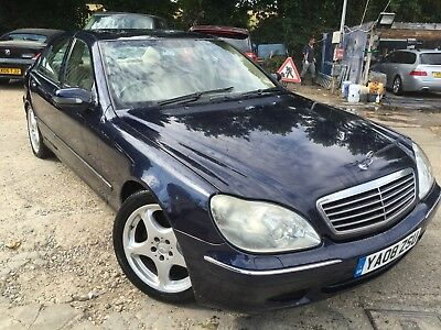 2003 Mercedes-Benz S320 3.2 Cdi Very Late Registration So On A 2008 Reg!!