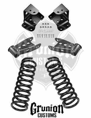 chevy 2 4 drop kit lowering spindles shackles hangers 99 06 1987 GMC Crew Cab 4x4 mcgaughys chevy gmc truck 2 4 economy drop kit 99 06 silverado sierra 11001