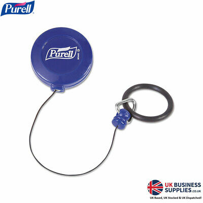 {2 Pack} Purell Personal Retractable Ring Clips for 60ml Hand Sanitiser