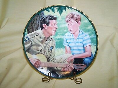 "Andy Griffith Show ""Mayberry Sing-a-Long"" Plate"