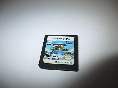 Mario & Sonic at the Olympic Winter Games (Nintendo DS) Lite DSi XL 3DS 2DS Game