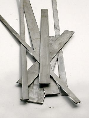 New 304 Stainless Steel Flat Bar  (Various Lengths Available)