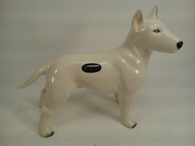 Vintage COOPERCRAFT Ceramic English Bull Terrier Figurine Made in England