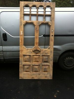 Antique wooden front door in excellent condition