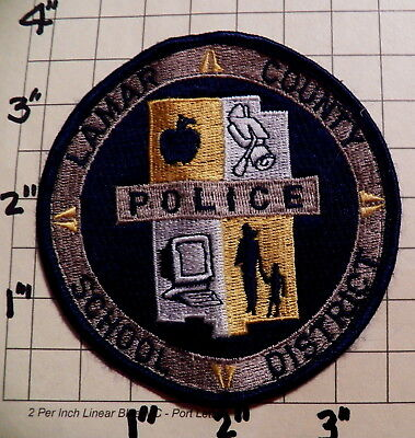 Lamar County School District (Purvis,MS) Police Department Patch