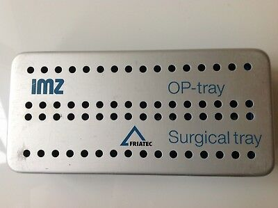 Friatec IMZ OP Tray Implant Chirurgie