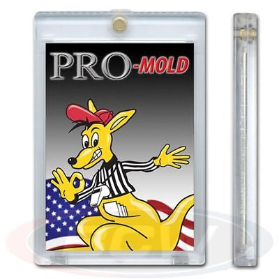 1 Case 200 PRO-MOLD MH1UV5 Thicker 20 Pt Magnetic Card Holder 5 Yr UV Protection