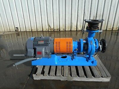 GOULDS 3196 MTX 4x6-106 25Hp STAINLESS SS316 LOW FLOW PROCESS CENTRIFUGAL PUMP