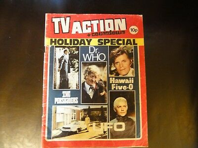 TV Action and Countdown Holiday Special Dr Who Captain Scarlet