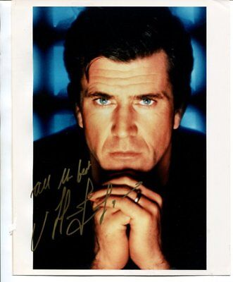 MEL GIBSON autograph HAND SIGNED 367