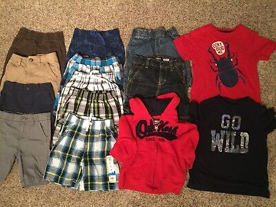 Boys 4/4t Clothes Shoes Lot