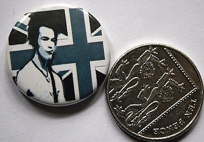 SEX PISTOLS Button Pin Badge PUNK Sid Vicious(not shirt patch cd lp)